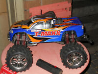 TMAXX NITRO RC NEVER BEEN JUMPED WITH EAZY START