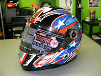 LS2 - Full Face Helmets - Patriot - NEW - All Sizes at RE-GEAR