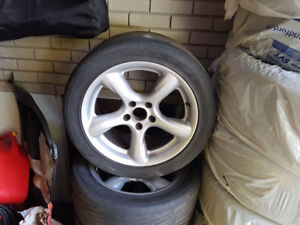Roues alliages 17 x 8 pour ford Mustang et autres modeles Ford