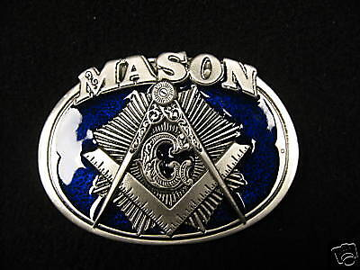Masonic Belt Buckle (BBM)  - Mason Belt Buckle