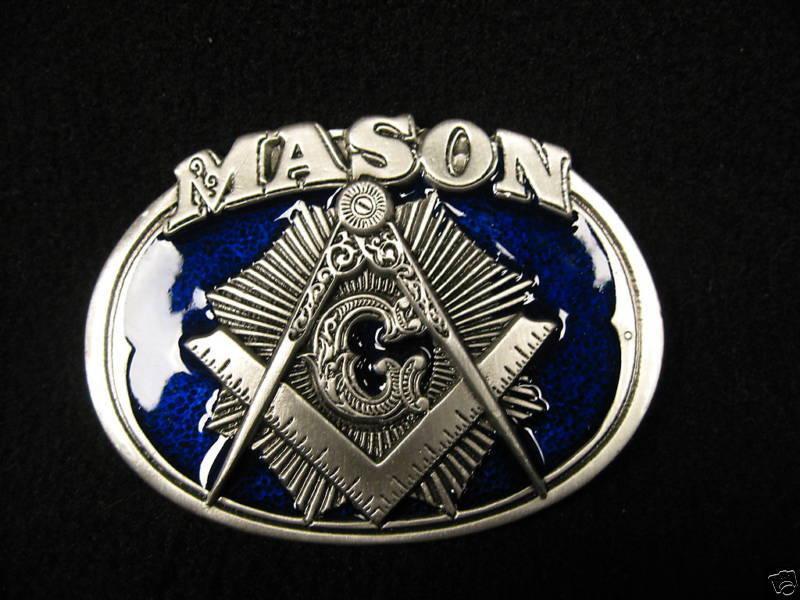 Masonic Belt Buckle #BBM