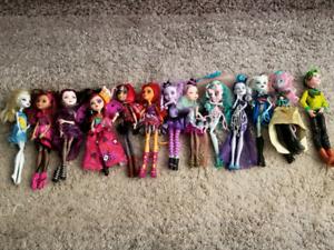 Monster high original dolls