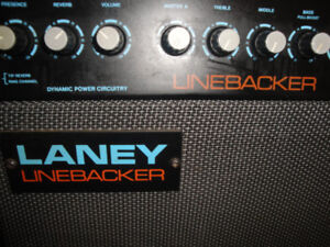 MADE IN ENGLAND,LANEY LINEBACKER AMPLIFIER 50 WATTS REVERB  $220