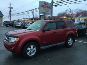 2008 Ford Escape AWD XLT  V6   As Traded Special!!