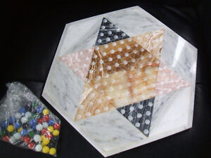 MARBLE/ONYX Chinese Checkers-complete London Ontario image 1