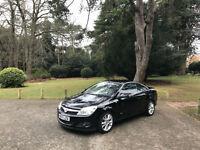 2007/57 Vauxhall Astra 1.8 Twin Top Design 2 Door Convertible Black