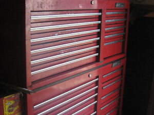 pro tool chest with side chest load with tools plus more