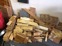 Scrap wood for free