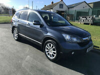 2008 Honda CR-V EXECUTIVE 2.2 i-CTDi EX LEATHER SUNROOF 93,000 MILES