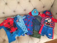 5 boys swimwear all worn once