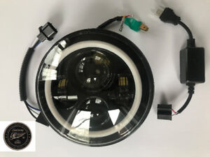 lumiere led headlight harley touring 7pouces