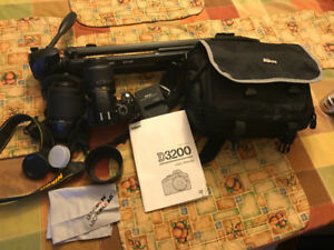 Nikon D3200 and accessories