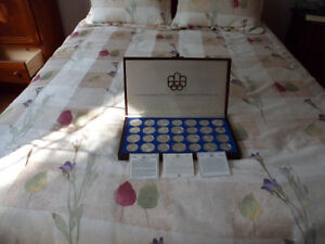 1976 Canadian Olympic Silver Coin Set