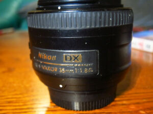 Nikkor 35 mm. f1.8 DX lens