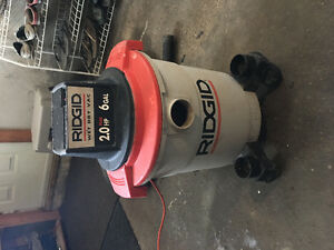 Ridgid Shop Vac 5 Gallon
