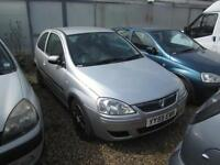 For Sale Vauxhall Corsas, Fiat Punto and Renault Clio X6