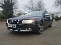 2013 13 VOLVO V70 2.0D D3 136 BHP SAT NAV R DESIGN ONE OWNER FROM NEW PX SWAPS