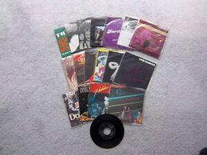Vinyl Records Singles 45' Collection