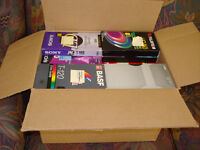 TAPED VHS TAPES FOR FREE - CALL (902) 880-7822
