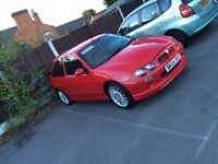 Mg ZR for sale or swap for golf mk4