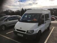 Ford transit crew van 6 seater full history