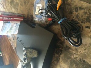 PS3 system and games