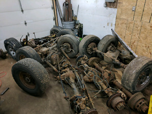 05+ Superduty axles