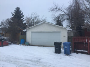 Double Heated Garage for Rent