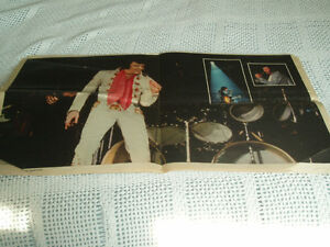 ELVIS PRESLEY - THE MONTREAL STAR MEMORIAL INSERT West Island Greater Montréal image 2