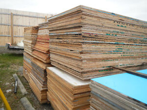 3/4 Plywood 4x8 Full sheets used