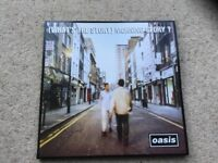 Oasis (What's the story) Morning Glory vinyl record AS NEW!