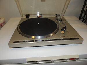 Pioneer PL300 Direct Drive Turntable w/New CN5625AL cartridge