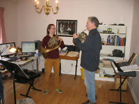French Horn Private Lessons in Ottawa