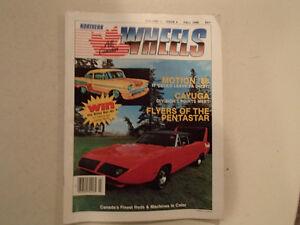 NORTHERN All CANADIAN WHEELS Fall 1986 Volume 1, Issue 3 Magazin Sarnia Sarnia Area image 1