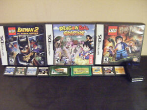 Nintendo Ds and Pokemon Advanced Game Lot