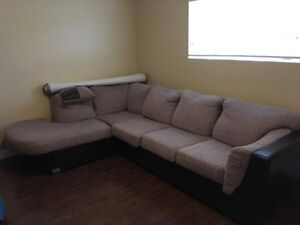 FREE - Sectional and Desk (Pick-up Only)