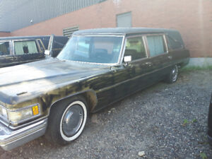 76 & 77 Cadillac Hearses for Sale