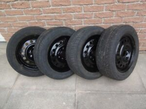 Used Winter Tires on Rims - 195 60R15