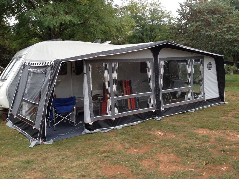 Isabella Ambassador Awning Moonlight 1025cm Carbon X ISAFIX 2012 Plus Glitter Carpet