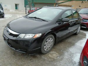 $6,995.00!  2009 Honda Civic 4 door   DX-G Sedan