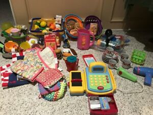 Kids play food kit with lots of extras