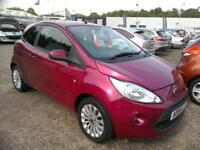 2009 Ford Ka 1.2 Zetec 50K £30 RFL AirCon Alloys LowIns Great 1st Car in VGC