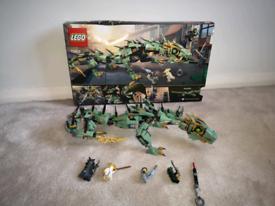 Used LEGO Ninjago Green Dragon