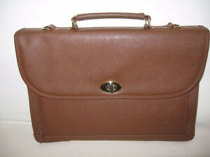 Briefcase, genuine leather