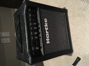 Hartke G15 amp (With card suit input chord included)