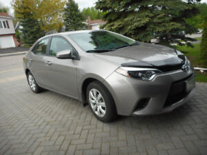 2014 Toyota Corolla LE /2-yr. warranty New Condition