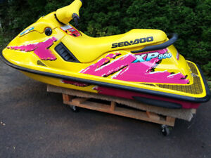 1995-96 Seadoo XP 800 for project, rough shape ok but running