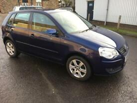 5808 Volkswagen Polo 1.2 60PS Match Blue 5 Door 72212mls MOT 12m