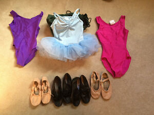 Dance clothes and shoes