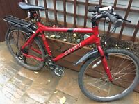 """Men's 20"""" Carrera Hybrid bicycle. Serviced inc NEW lights, NEW D-Lock, + more. FREE delivery"""